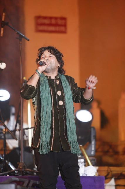 kailash kher in udaipur