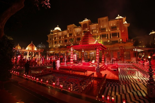 wedding in leela palace