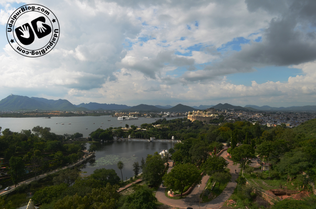 Sunset Point in Udaipur