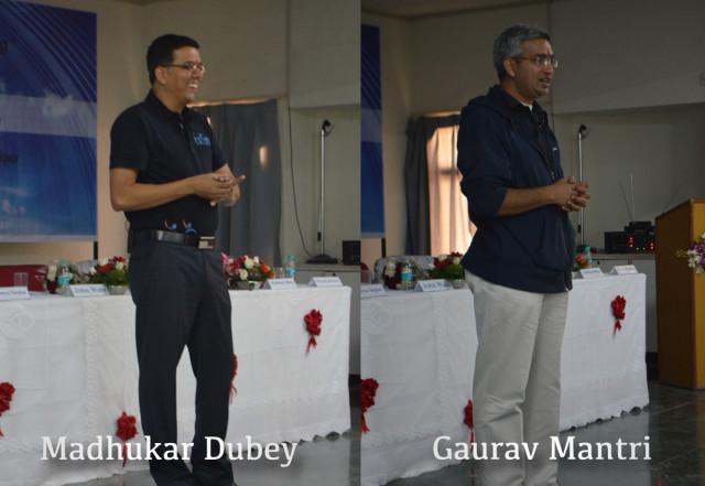 Madhukar Dubey and Gaurav Mantri Udaipur