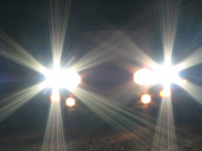 high beam lights
