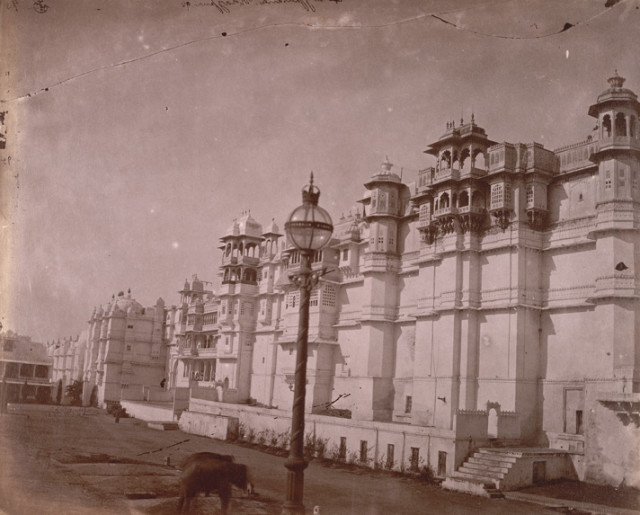 East faade of the City Palace, Udaipur
