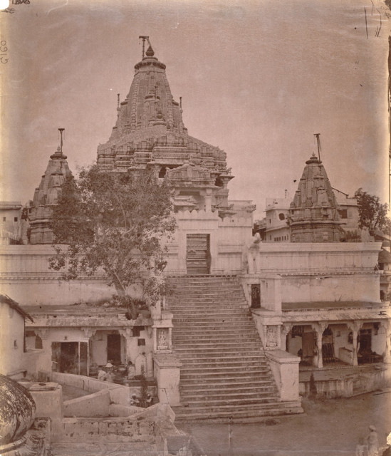 General view of the Jagdish Temple, Udaipur