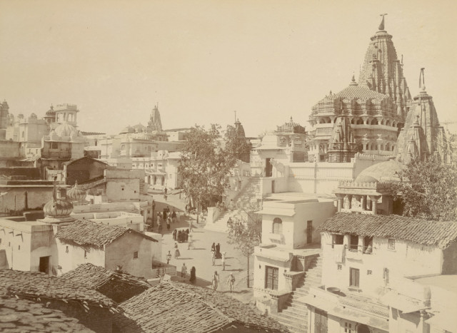 Jagdish Temple and city, Udaipur
