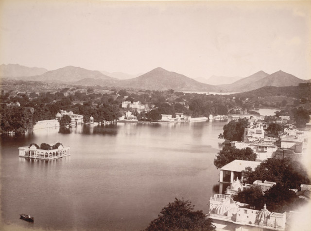 Lake view from the Palace, [Udaipur]
