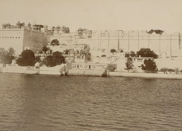 Palace from the lake, Udaipur
