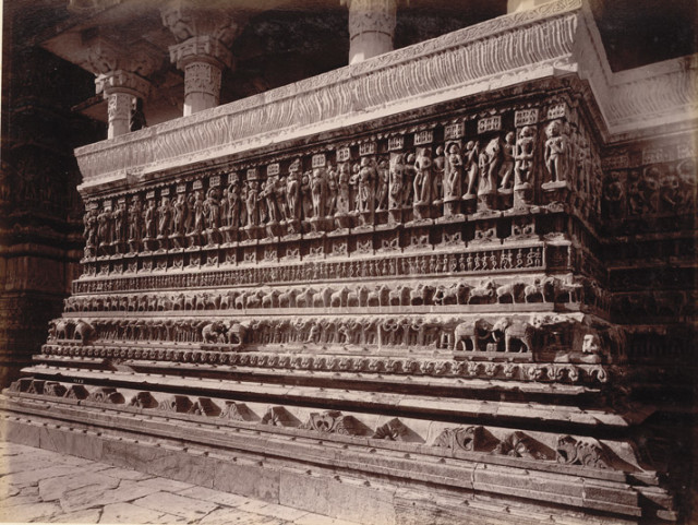 Plinth Sculptures of Jugdeesh Temple, [Udaipur]