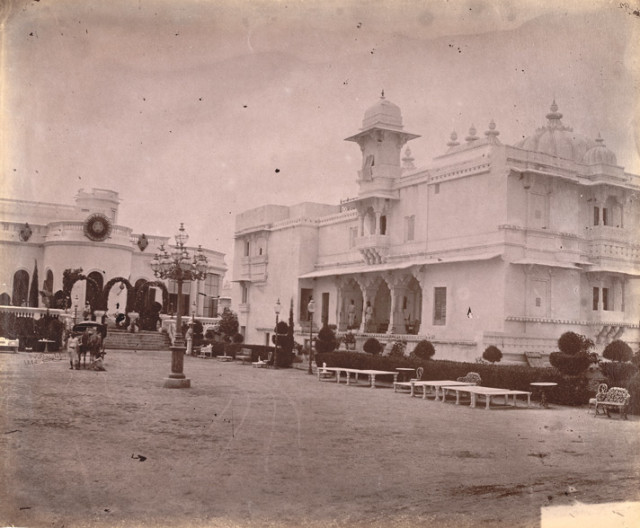 Shambhu Niwas Palace at Udaipur in Rajasthan,