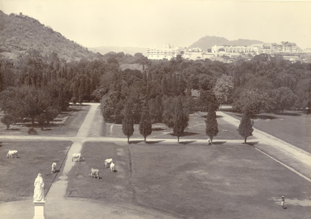 The Palace, Udaipur. From the Victoria Hall