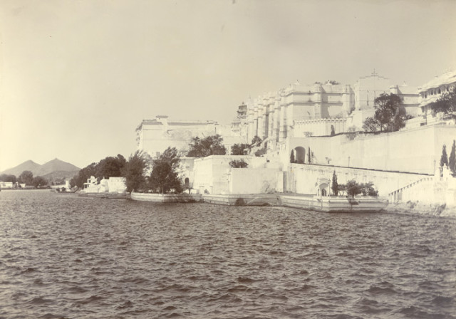 The Palace, Udaipur. From the south