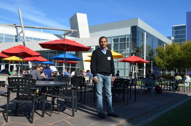 At Google Headquarter at Mountain view, California.