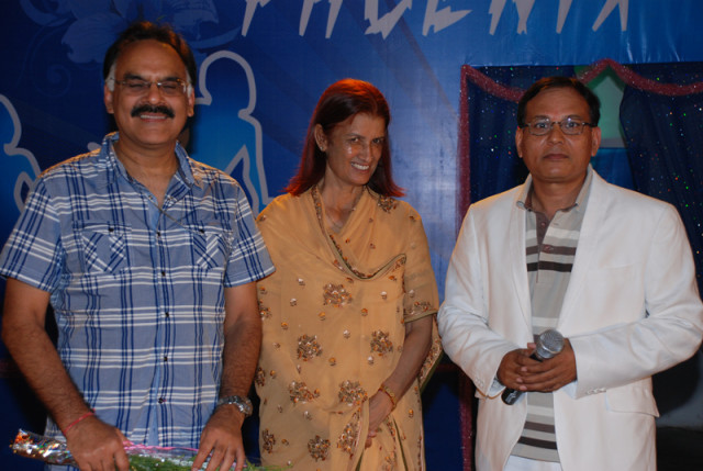 With other trustees of Techno NJR - Mr. Arvind Mayaram and Mrs. Meera Ranawat