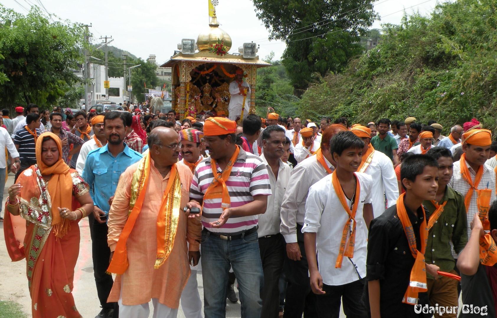 Jagganath Rath Yatra Udaipur