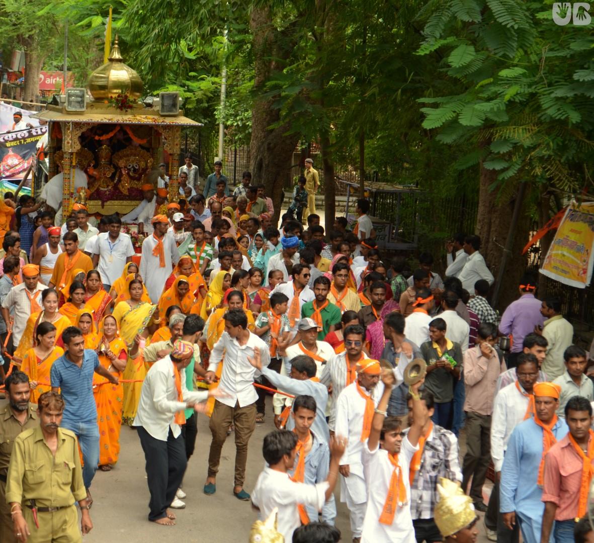 Jagannath Rath Yatra Udaipur | Samor bagh | Jagannath Dham Sector 7