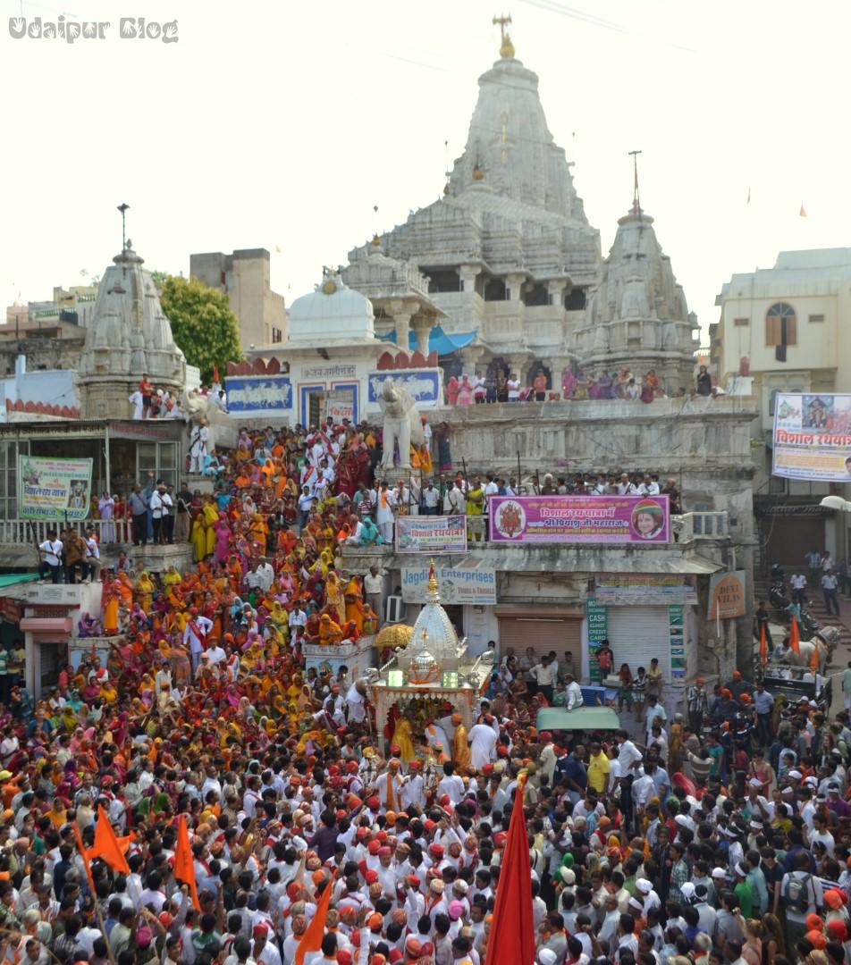 Jagannath Rath Yatra Udaipur Photos