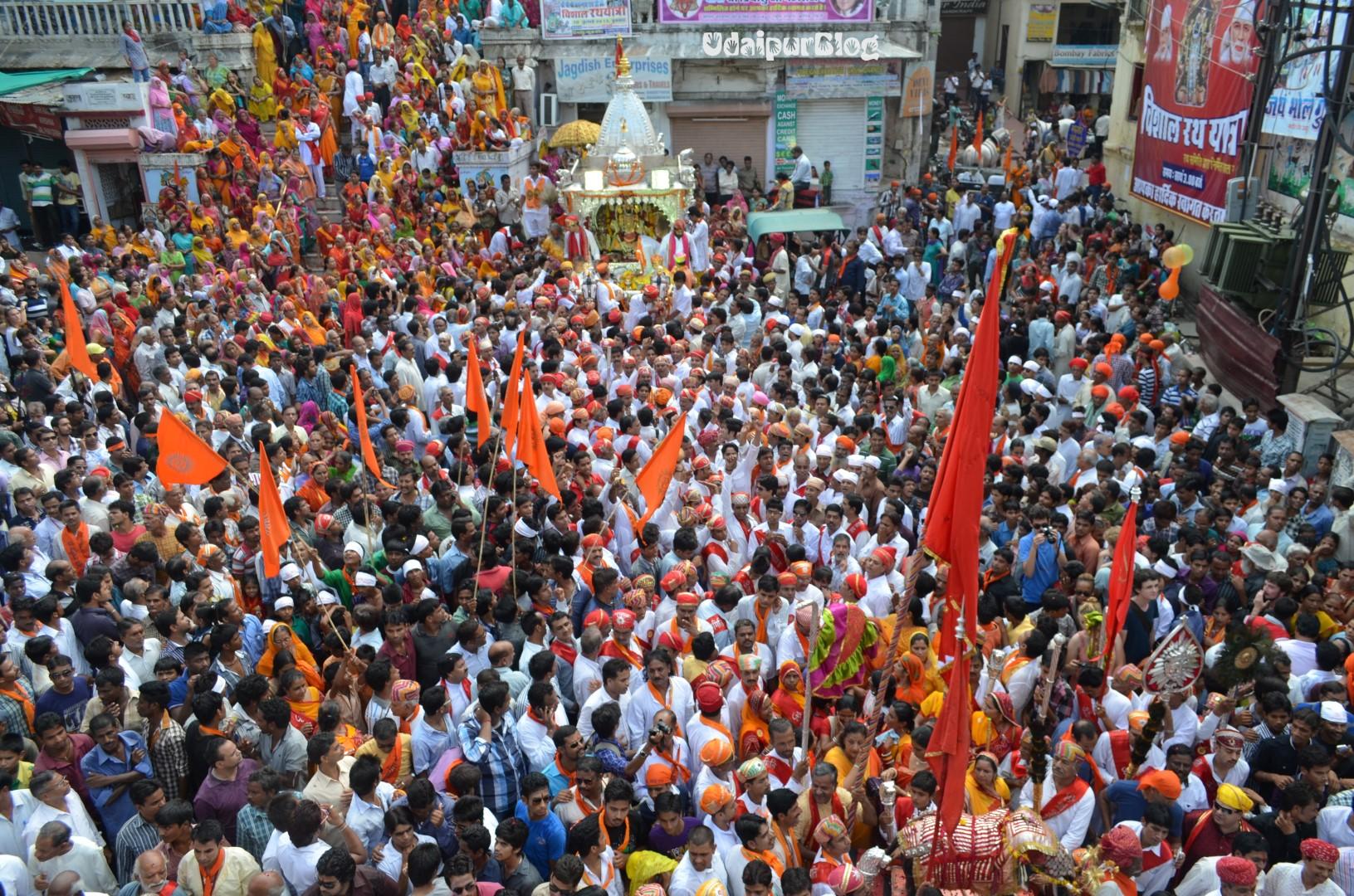 Jagdish Chowk - Jagannath Rath Yatra Udaipur
