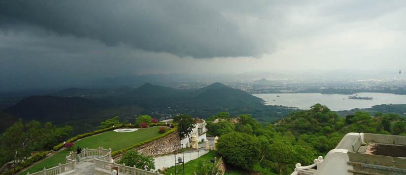 Monsoon in Udaipur