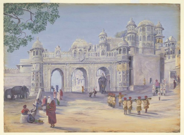Tripolia Gate of CIty Palace