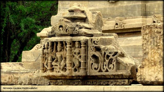 Saas Bahu Temple Nagda (2)
