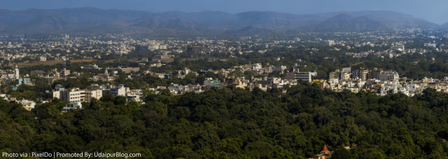 Udaipur City Gigapixel