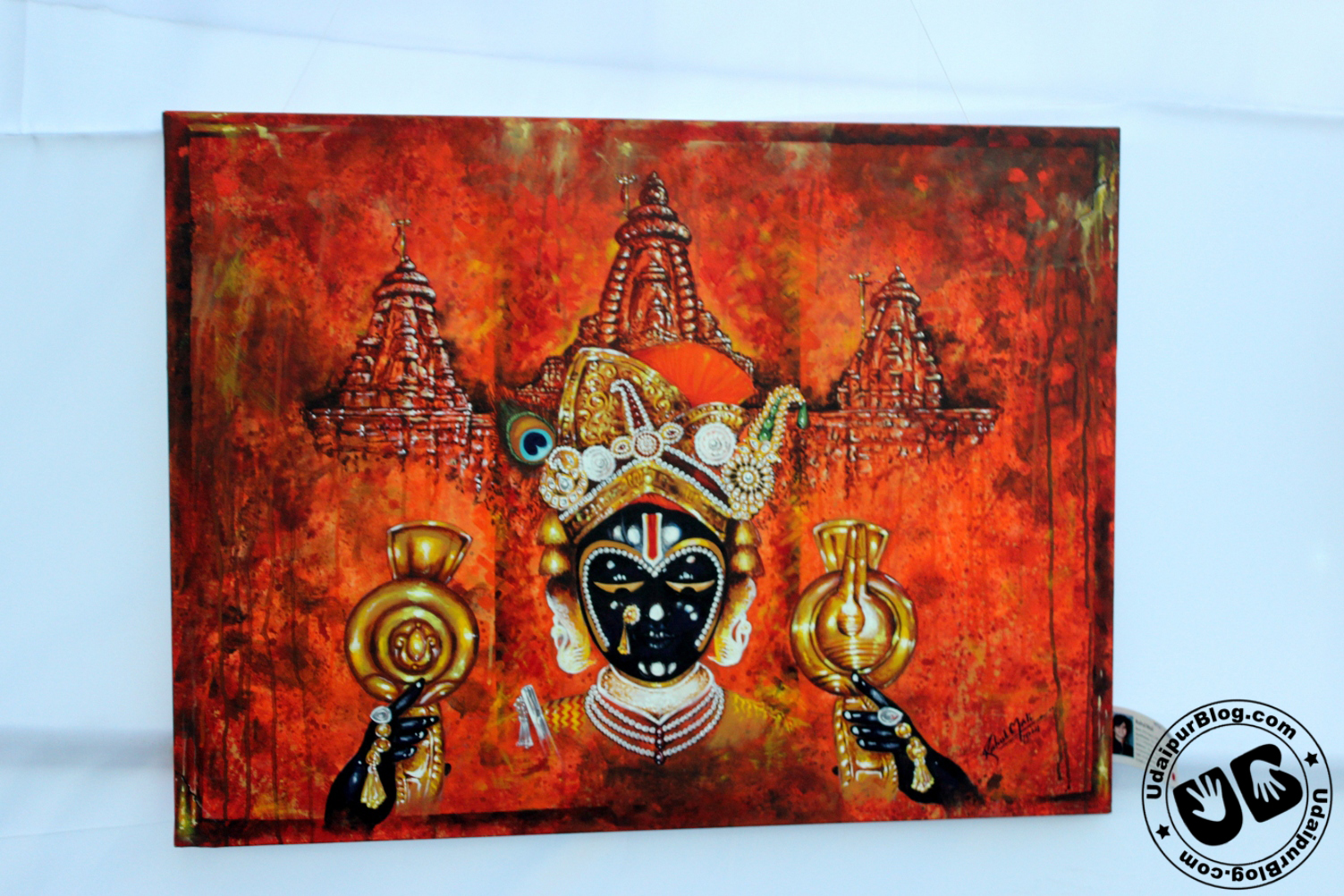 [Photos] Painting Exhibition at Fatehsagar Paal
