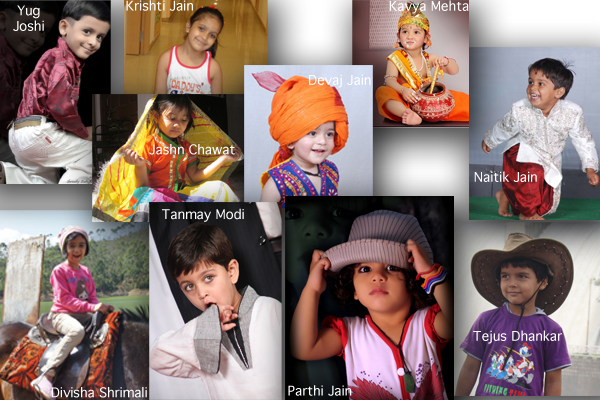 cute kids of udaipur