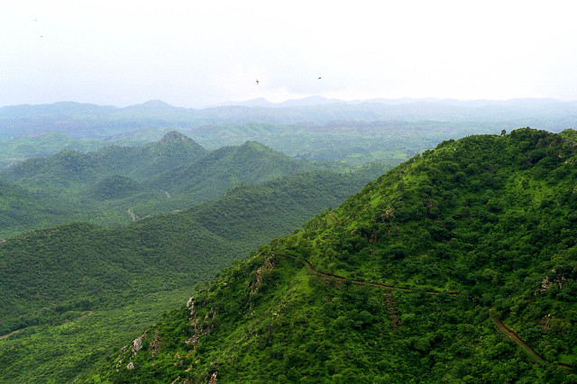 Aravalli hill range