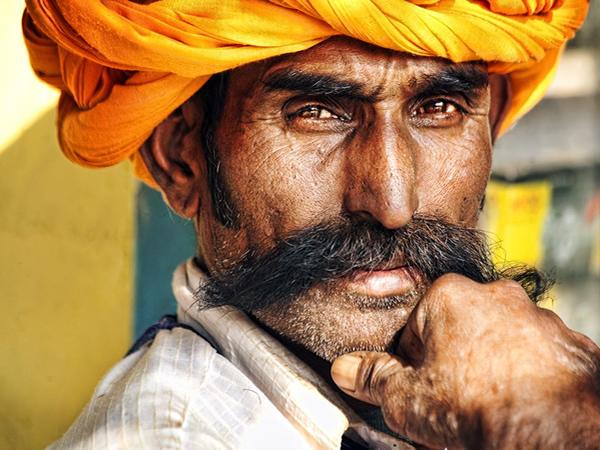 men with moustache udaipur