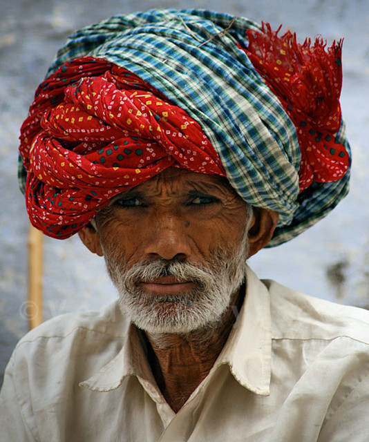 men with turban - udaipur