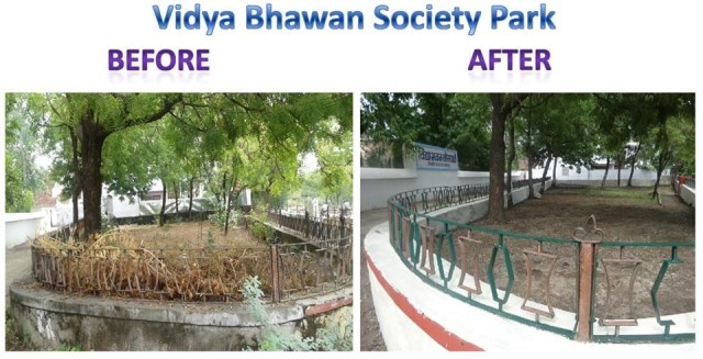 vidya bhawan society park