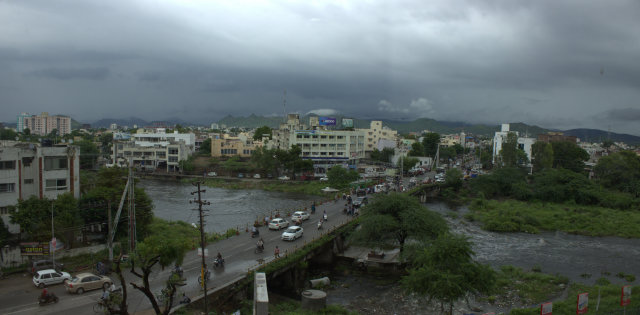 Monsoon 2014 Udaipur | Udaipur Monsoon | Fatehsagar Overflow | Pichola Overflow