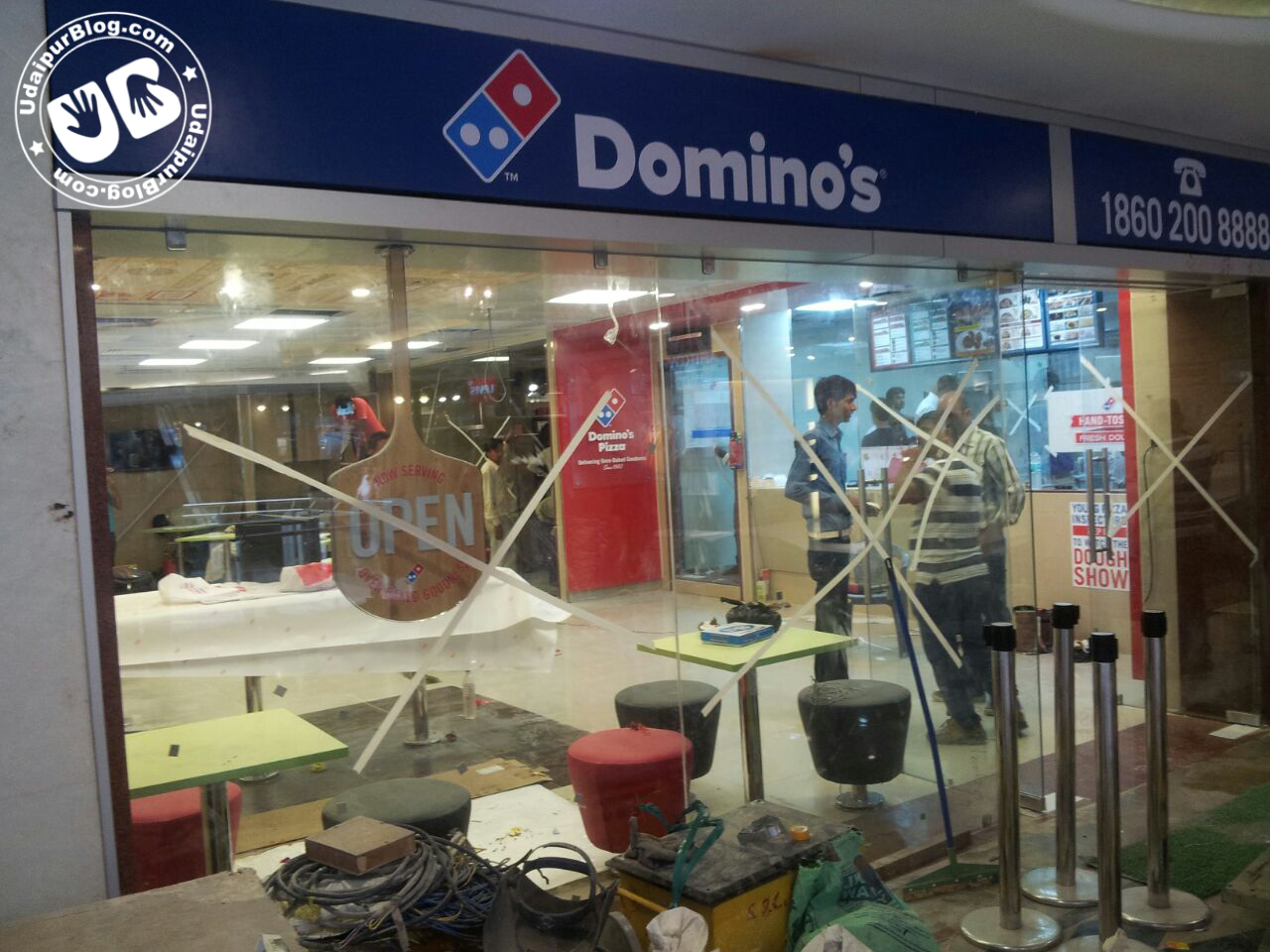 Domino's Udaipur Opening on 1 October