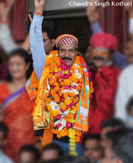 A Brief Interview with New Mayor of Udaipur – Mr. Chandra Singh Kothari