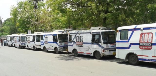 108 ambulances