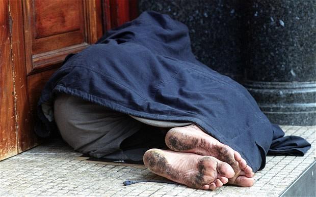 homeless and needy