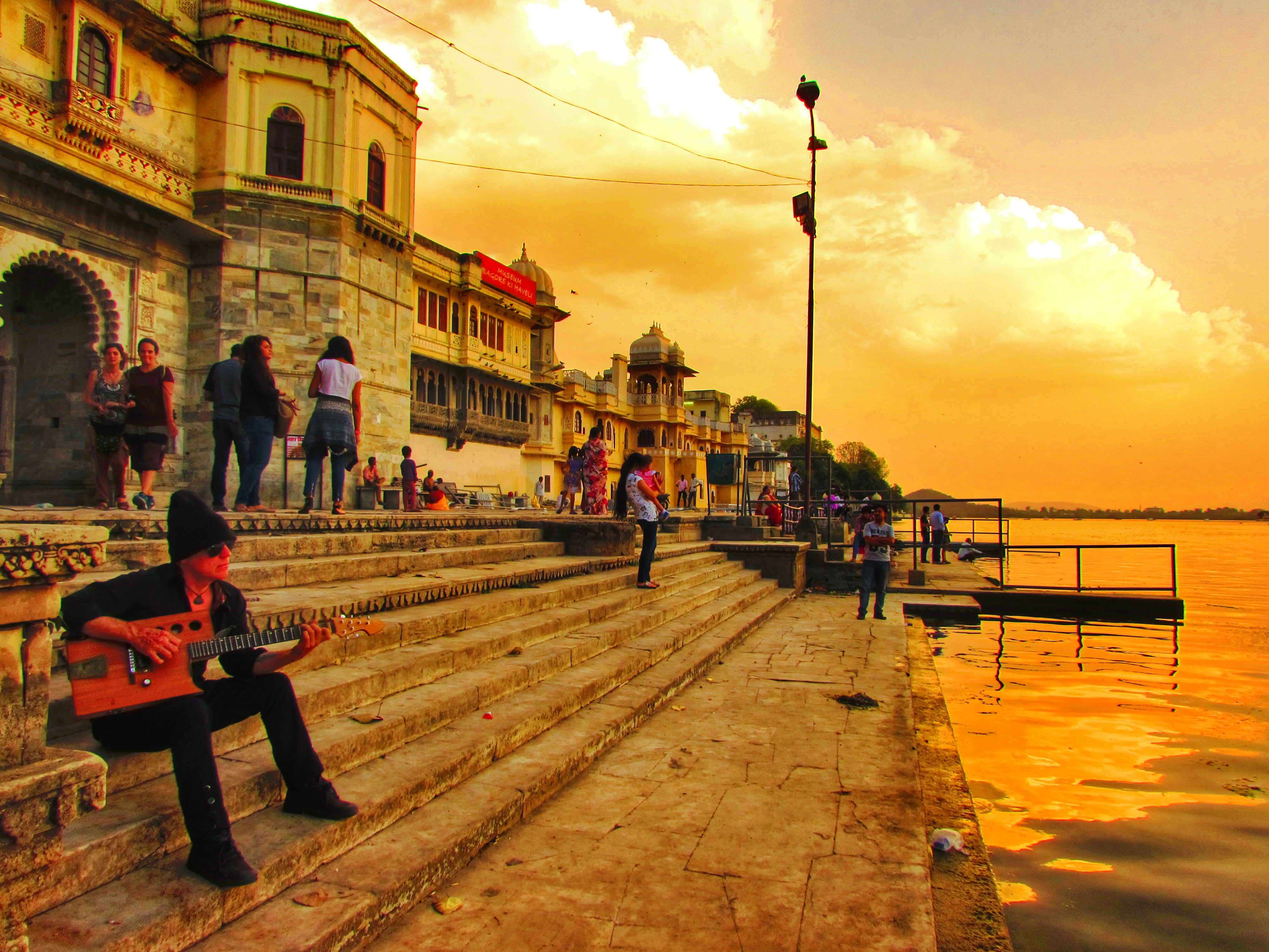 Two reflections of Gangaur Ghat : What do YOU think?