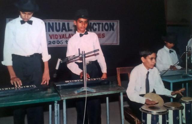 Priyansh Paliwal in school