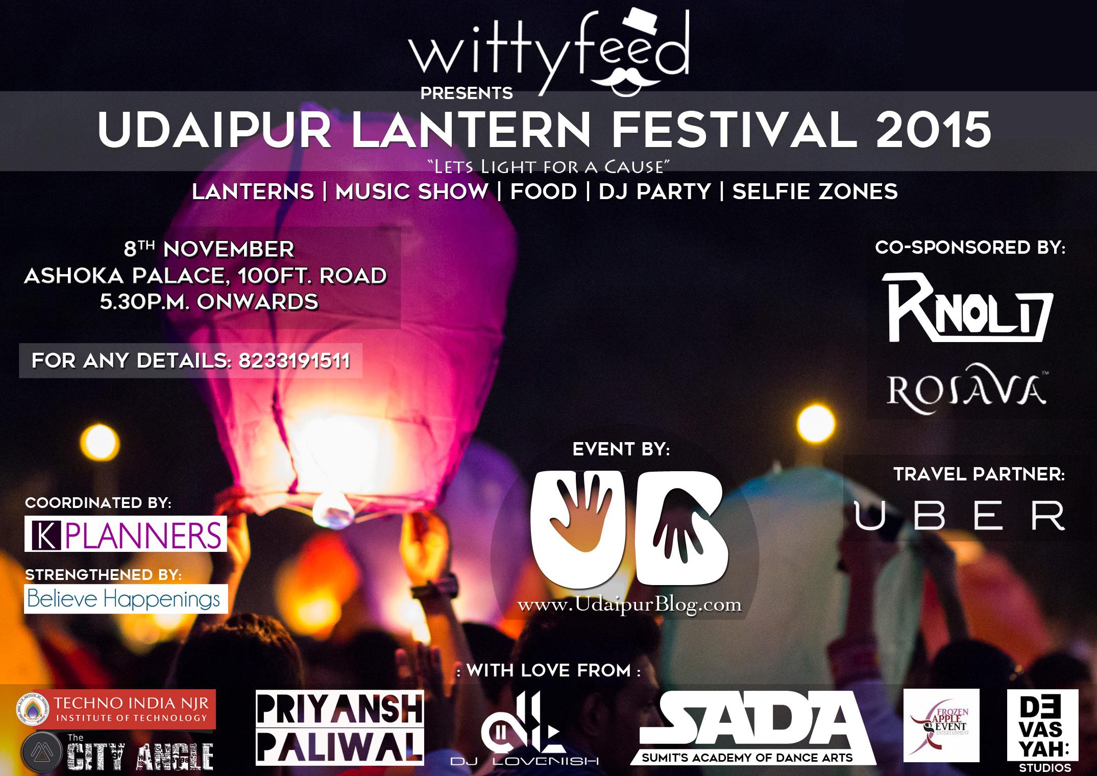 [Invitation] Udaipur Lantern Festival 2015
