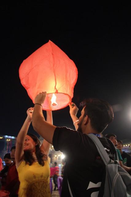 Udaipur Lantern Festival