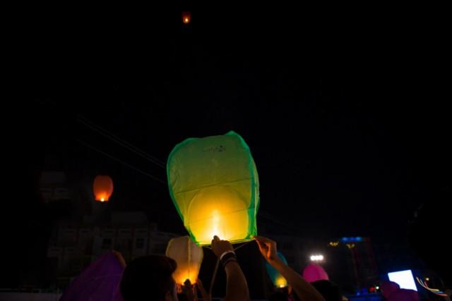 Udaipur Lantern Festival 1