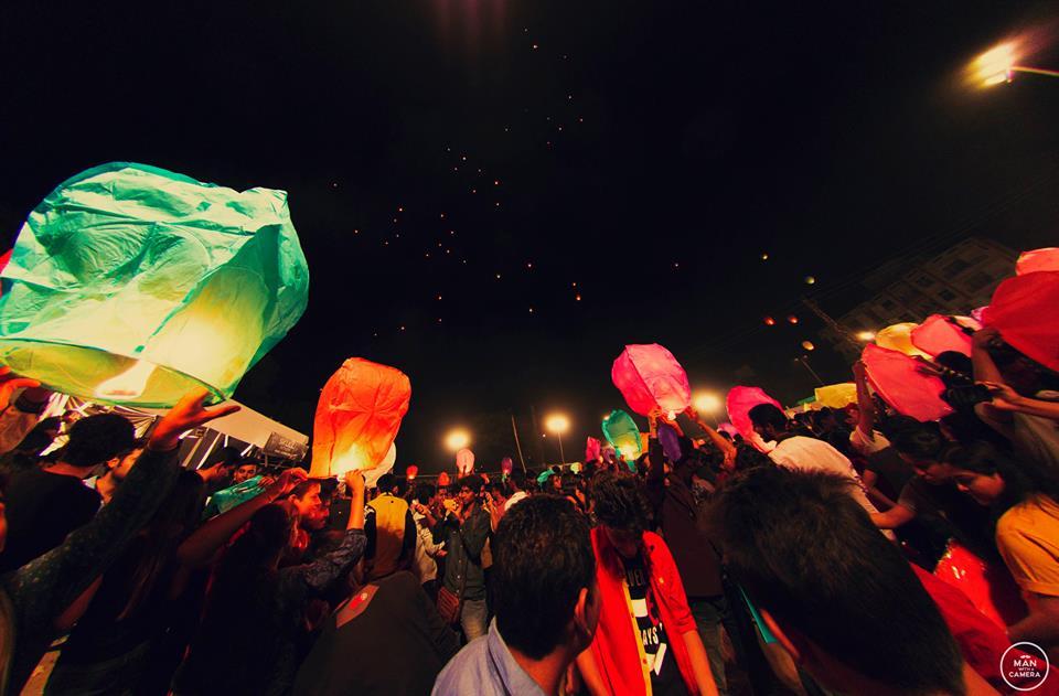 [Photos] Udaipur Lantern Festival 2015