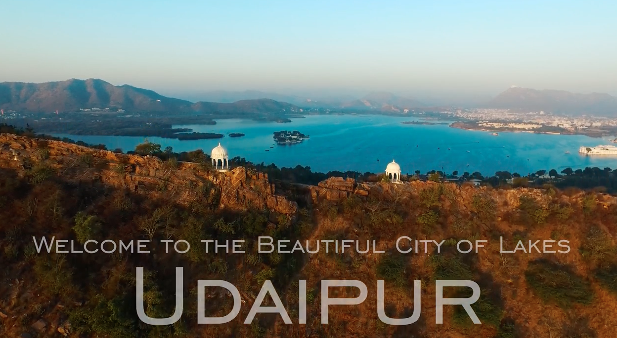 Best Aerial Video of City of Lakes – Udaipur