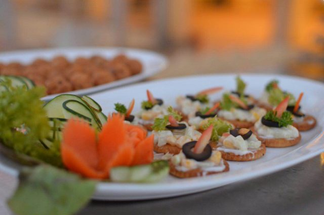 Snacks at Chunda Palace - Udaipur Foodie