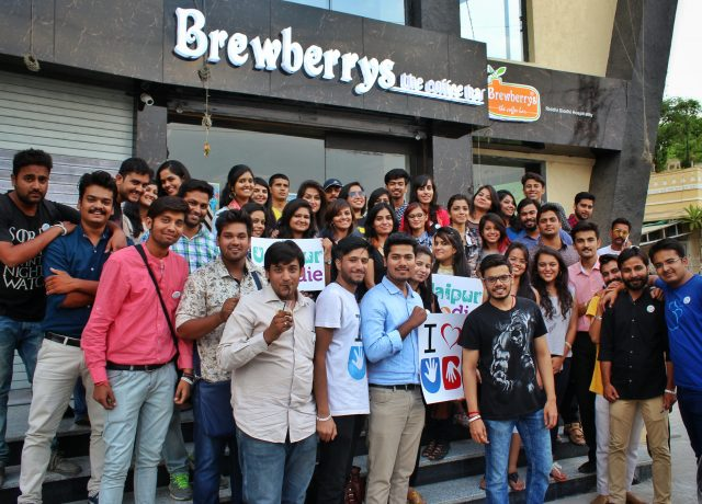 Udaipur Food Drive - Brewberrys
