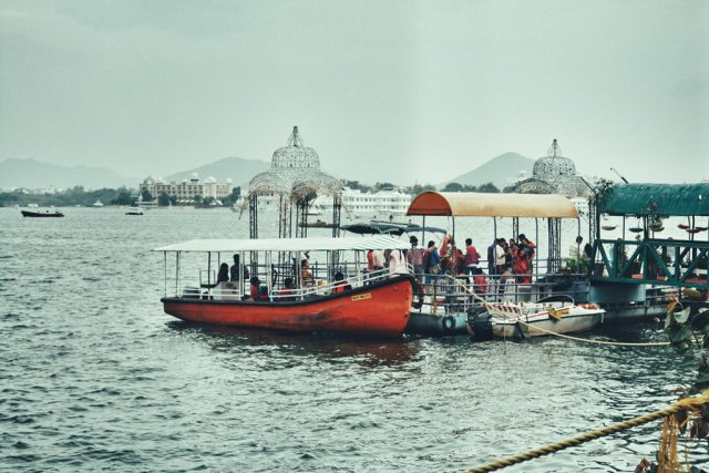 Lake pichola boat ride