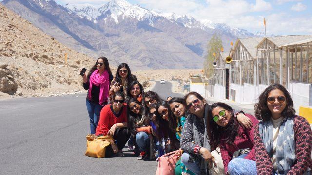 women traveling trips