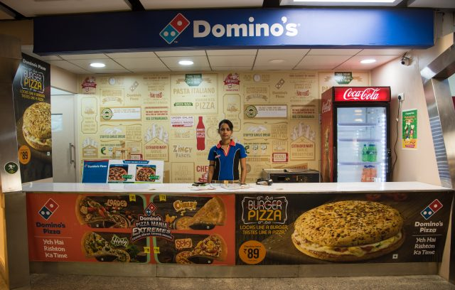 Dominos Food COurt celebration mall