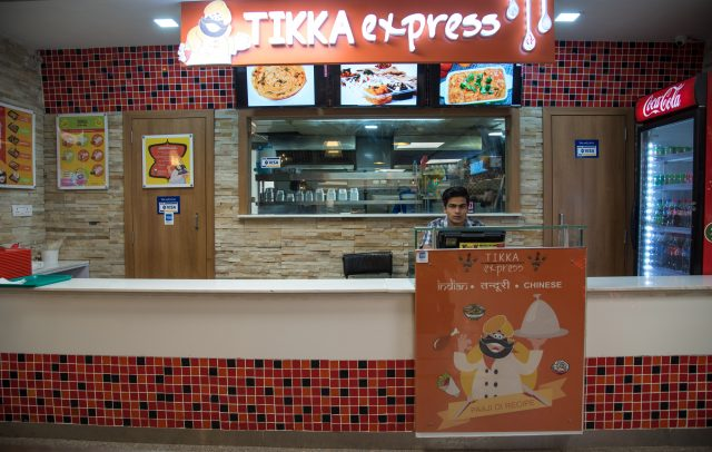 Tikka Express celebration mall
