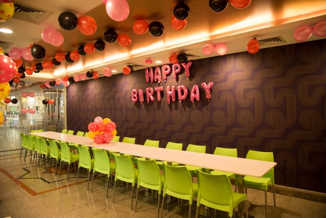birthday party zone celebration mall