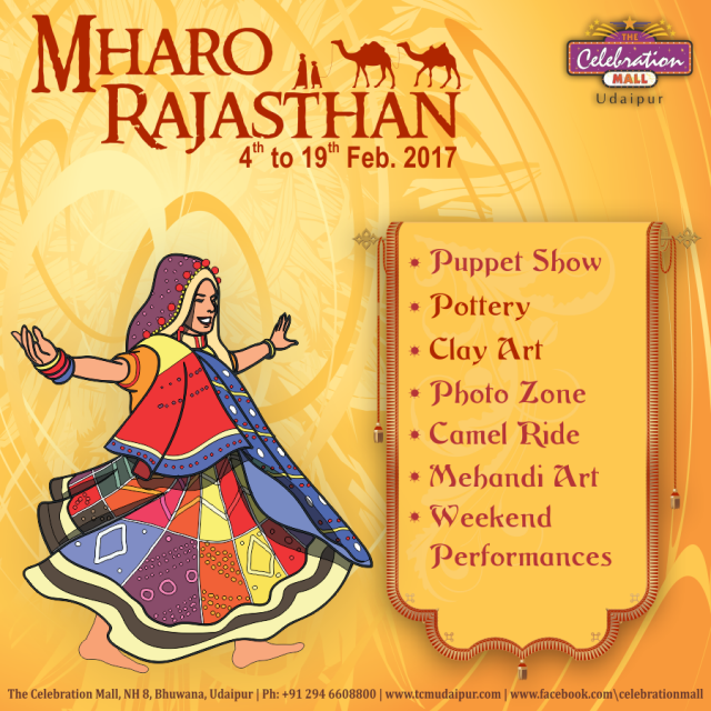 Mharo Rajasthan - Celebration Mall